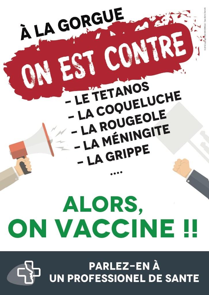 La Gorgue santé affiche vaccination