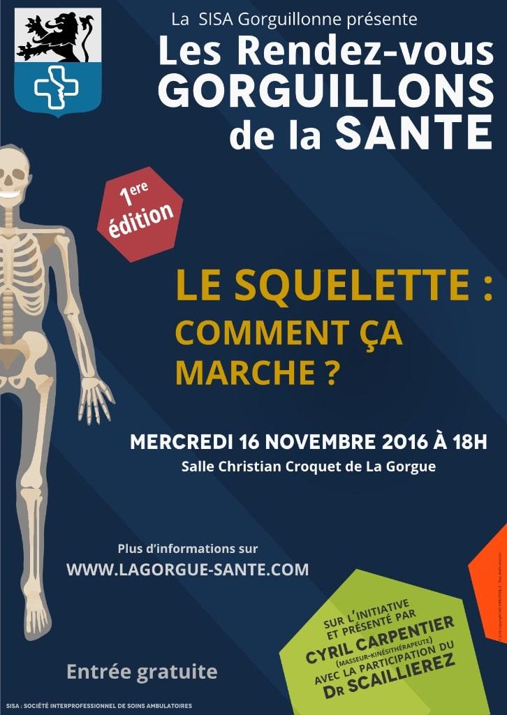 MSP La Gorgue - rendez-vous gorguillons - le squelette